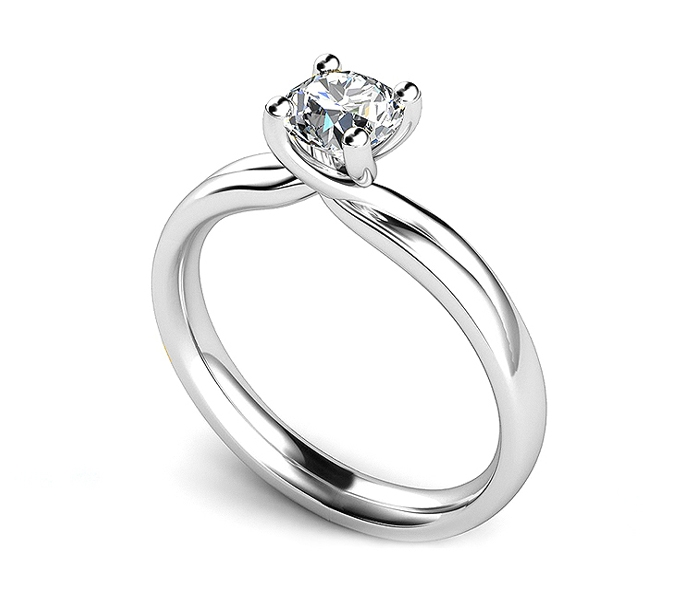 New Twist Engagement Ring Design