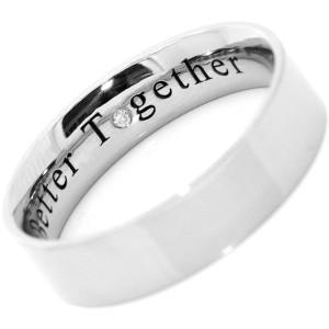 Stunning wedding rings Wedding rings engraving quotes