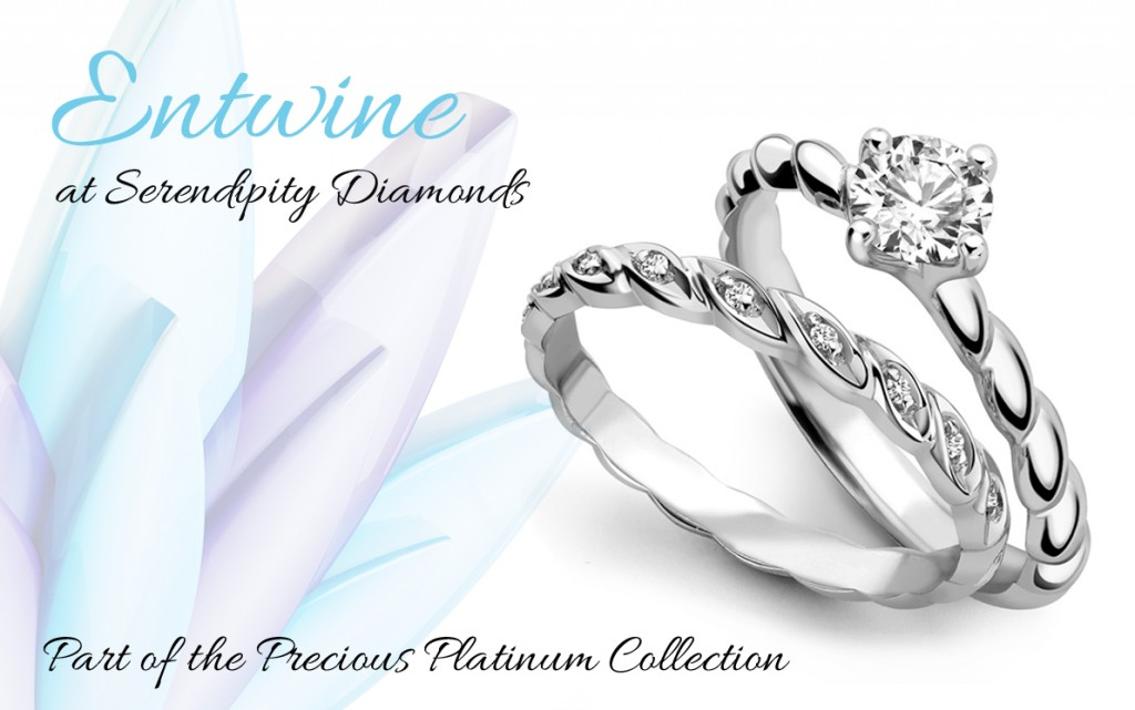 entwine engagement ring design
