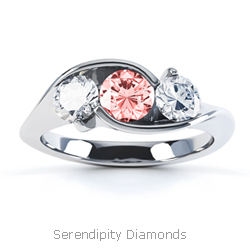 Red Diamond Engagement Rings