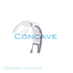 The Concave Profile Wedding Ring