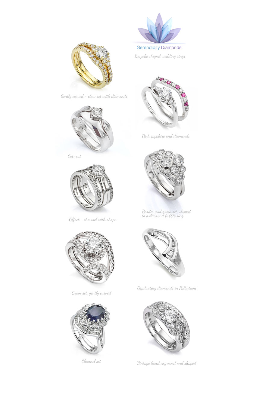 Matching wedding rings to engagement rings