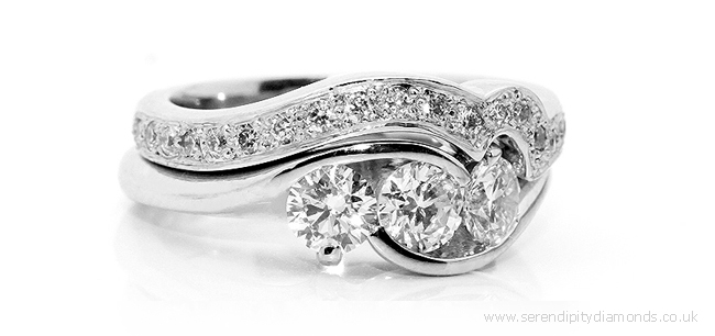 diamond set wedding rings online