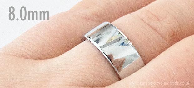 80mm Mens Wedding Ring