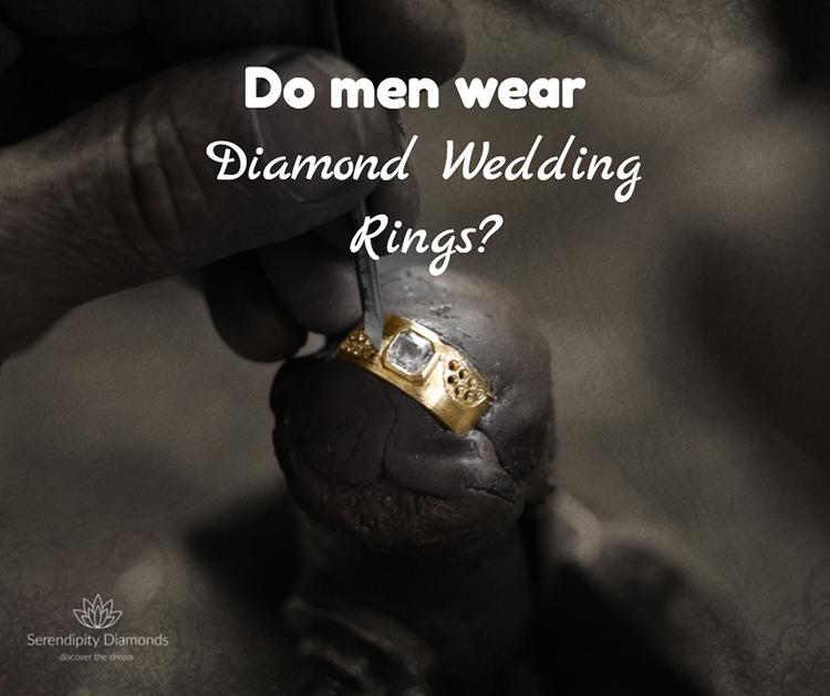 Do Men Wear Diamond Wedding Rings Do Guys Wear Diamond Rings