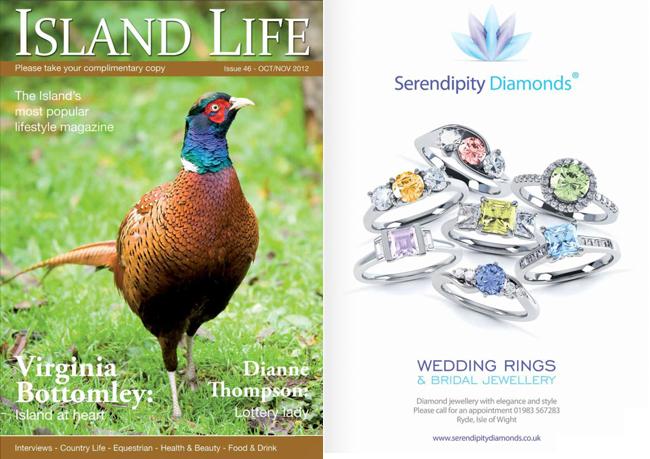 Island Life Magazine - Serendipity Diamonds, October 2012