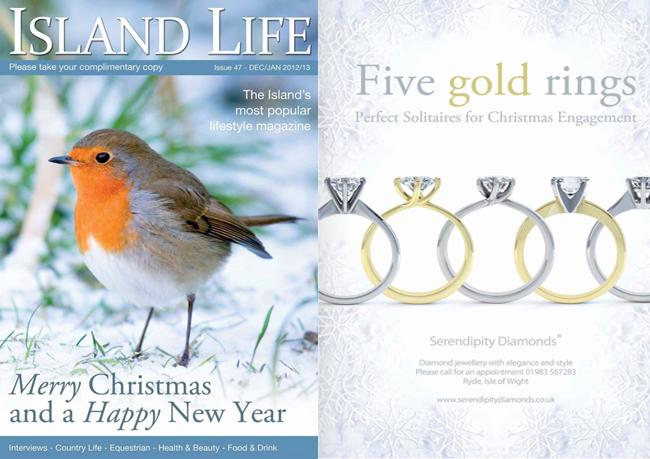 December edition of Island Life Magazine - Serendipity Diamonds
