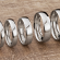 Mens Wedding Rings | Popular Widths Shown on the Finger