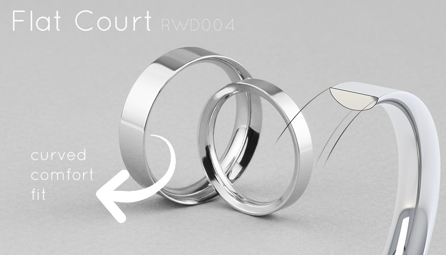 the flat court wedding rings ultimate guide - Flat Wedding Rings