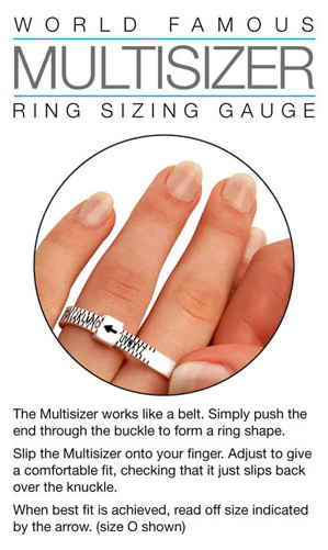 where can I get a free ring sizer