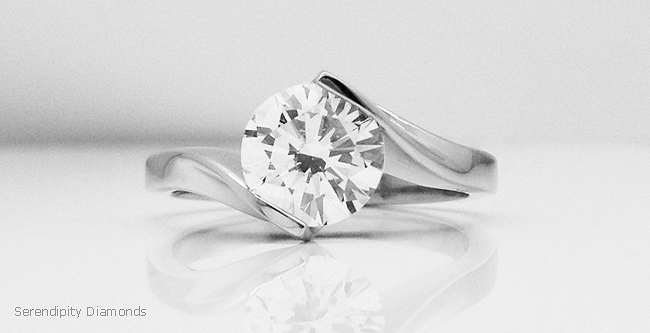 R1D078 - Open Diamond Settings - Our most minimal setting style
