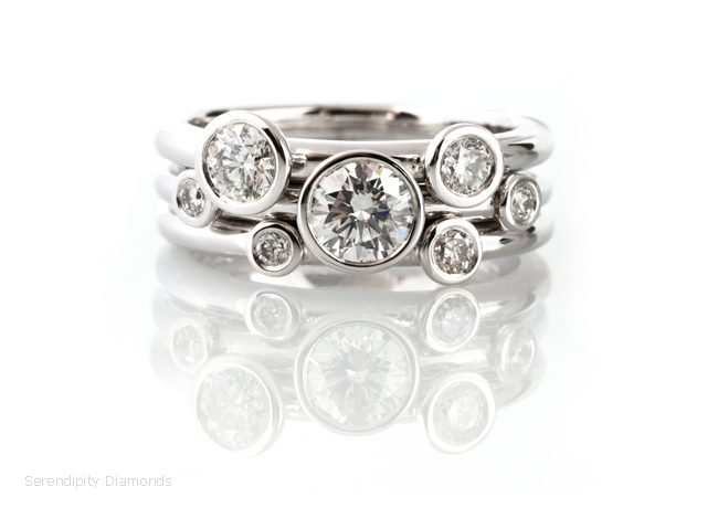 Stackable Engagement Rings Designs