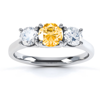 engagement-rings-with-coloured-stones-citrine