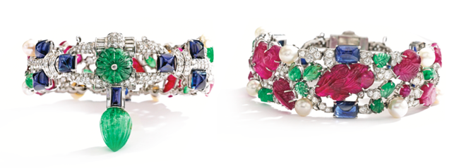 magnificent-jewels-auction-April-17-2013 Tutti Frutti Bracelet