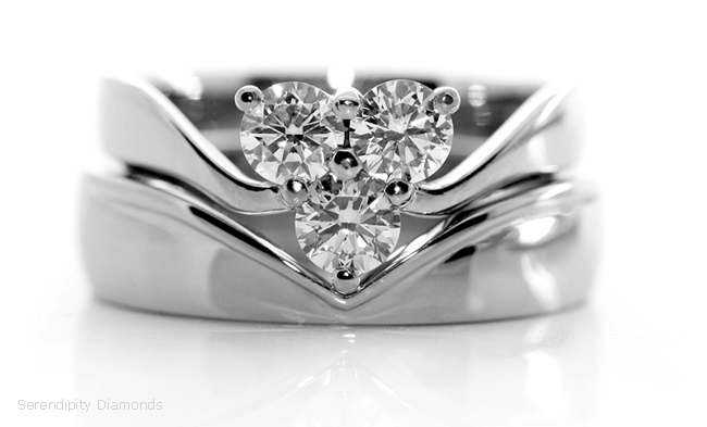 Shaped-wedding-ring-for-three-stone