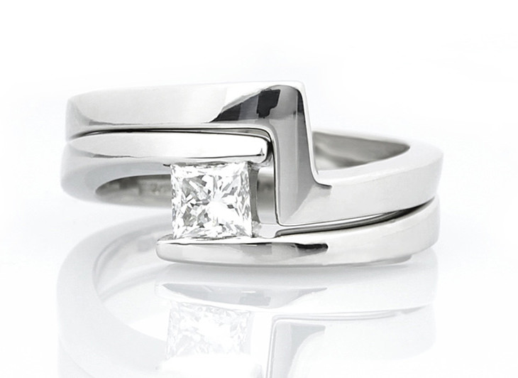 cut diamond solid brilliant rings gold and product square white black accented engagement natural ct shaped certified