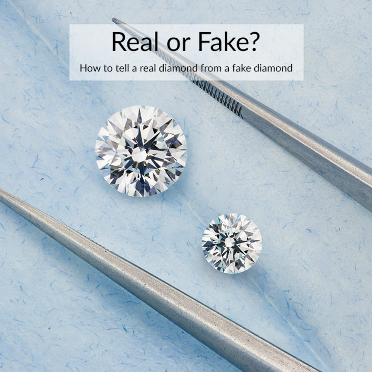 Real diamonds vs Fake diamonds