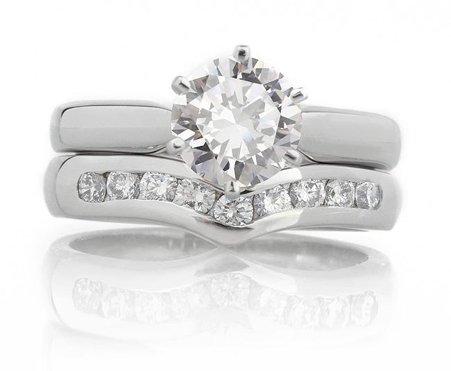 Diamond Wishbone Wedding Rings Choosing The Right Style