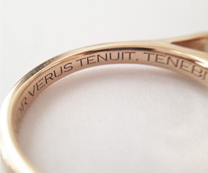 can engagement rings be engraved