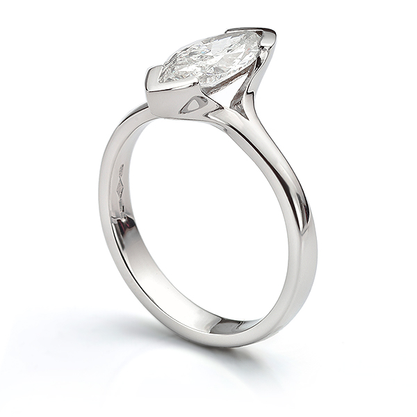 1 carat marquise diamond ring