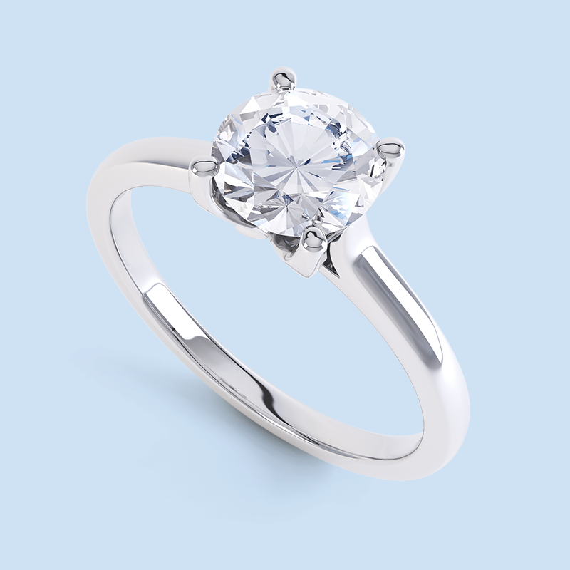 Diamond Solitaire Ring Photos