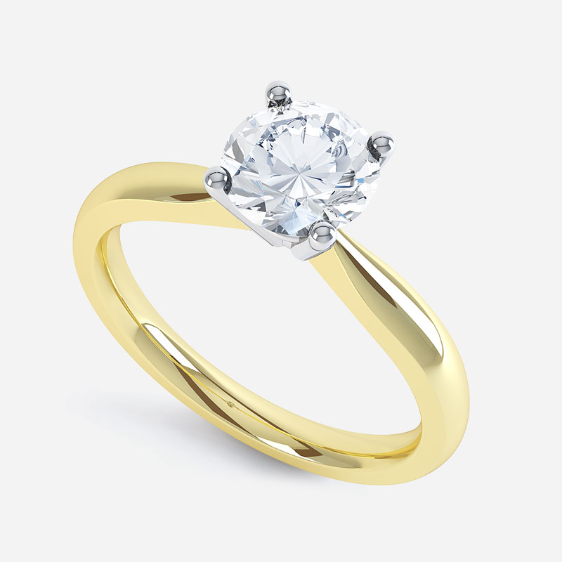 The Solitaire Diamond Ring