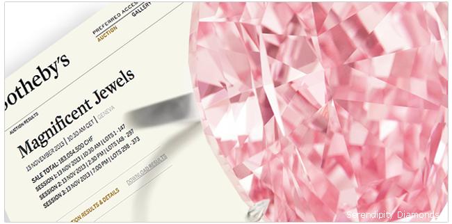 The Pink Star 59.60 Carat Diamond