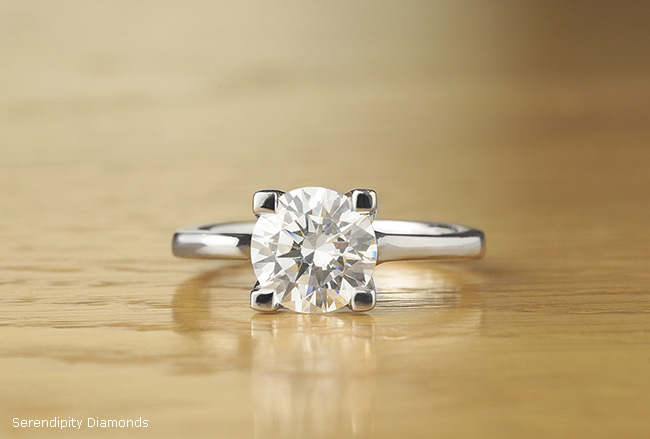 graph of the Day 2 Carat Diamond Solitaire Engagement Ring