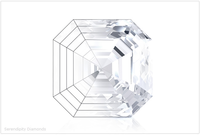 diamond ring design   creating the asscher cut engagement ring