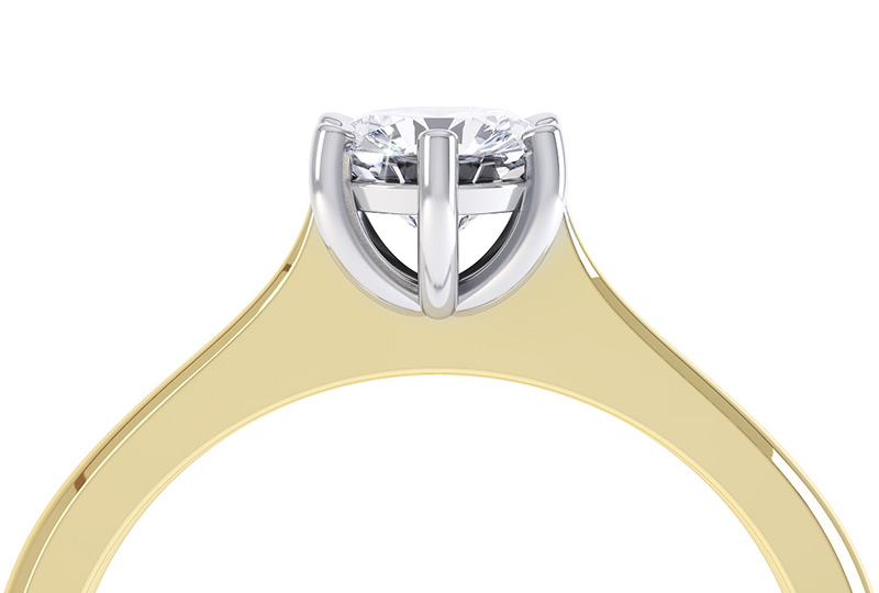 Basket Settings For Diamond Rings