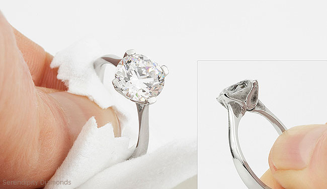 Clean Your Diamond Ring And Put The Brilliance Back