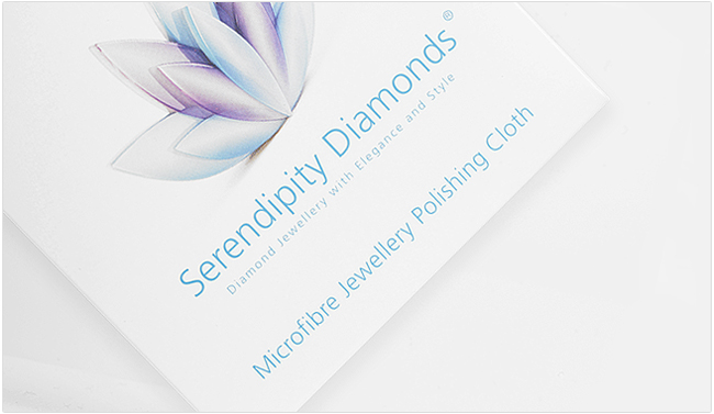 Contact us or comment below if you would like one of our micro-fibre jewellery polishing cloths.