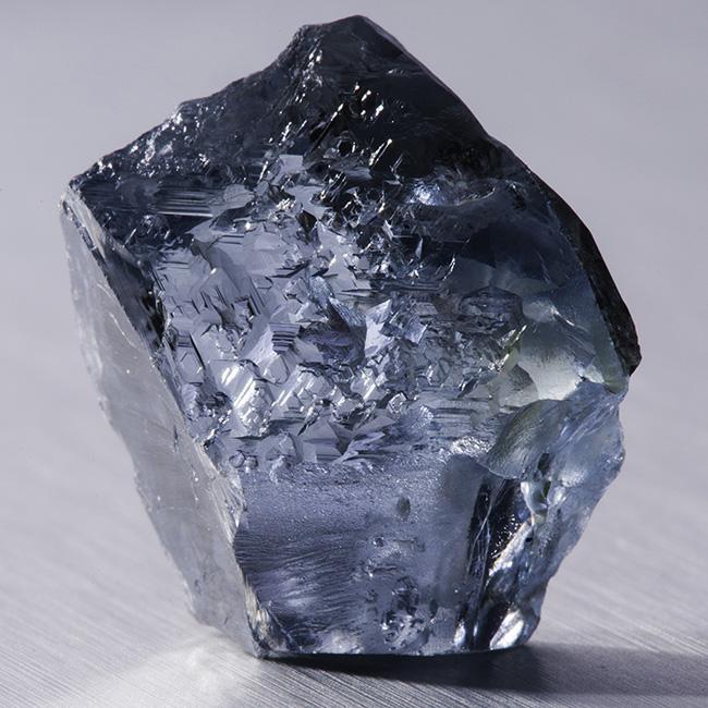 The 29.6 carat rough diamond. Photo courtesy of Petra Diamonds.