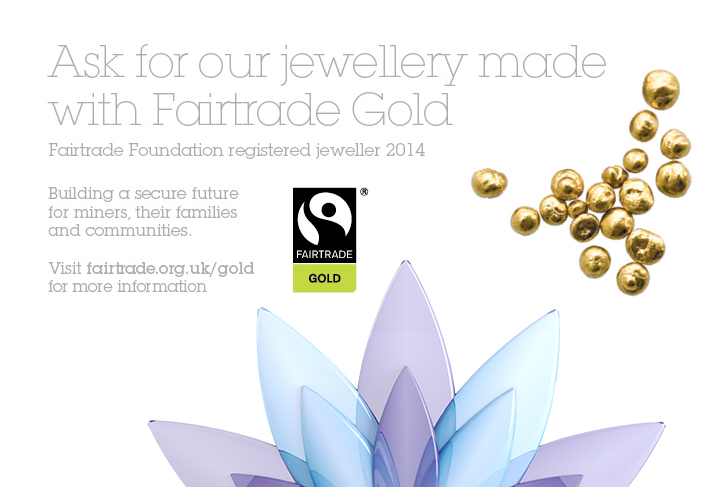 Serendipity diamonds now offers products created using Fairtrade Gold