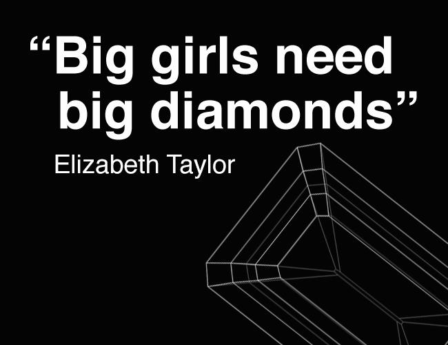 big hands deserve big diamonds   engagement rings for