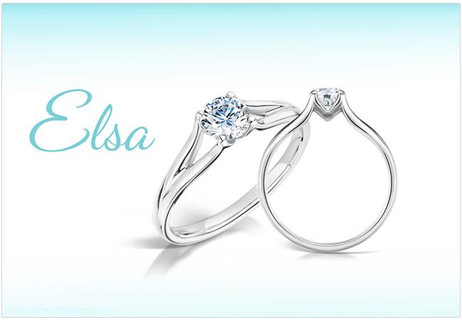 Elsa Diamond Engagement Ring