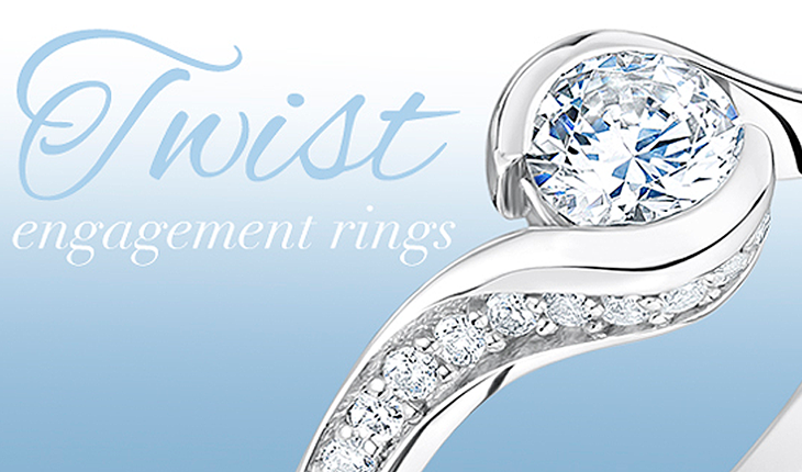 Twist-engagement-rings