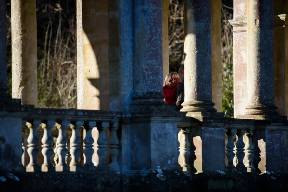 James and Bex on the Palladian Bridge
