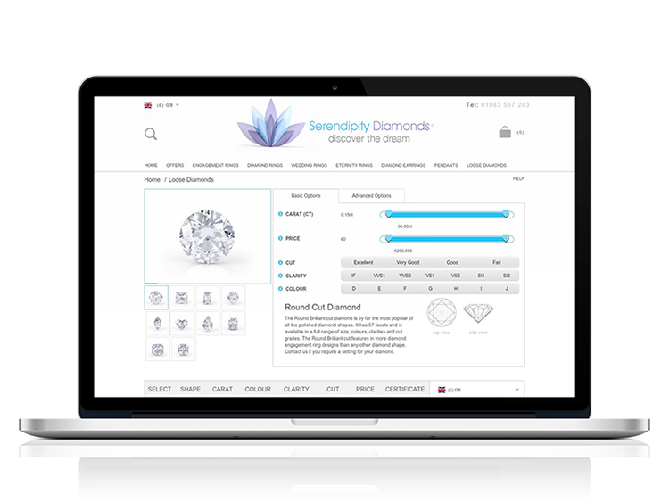 Certified Loose Diamond Search Goes Live
