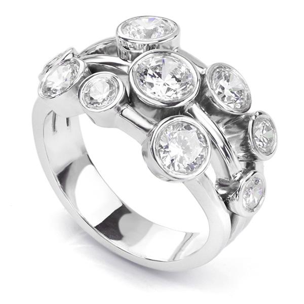 21bd84776c94f3 Raindance Inspired Diamond Rings & The Diamond Bubble Ring