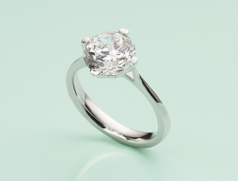 the magnificence of 2 carat engagement rings