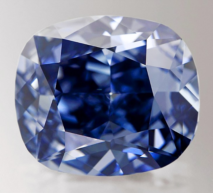 Blue Moon Diamond Courtesy of Gemological Institute of America