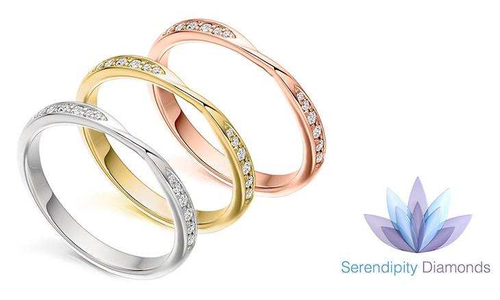 The Ribbon Twist Wedding Ring Bridal Styles in Focus