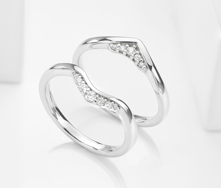 Hers and hers wedding rings
