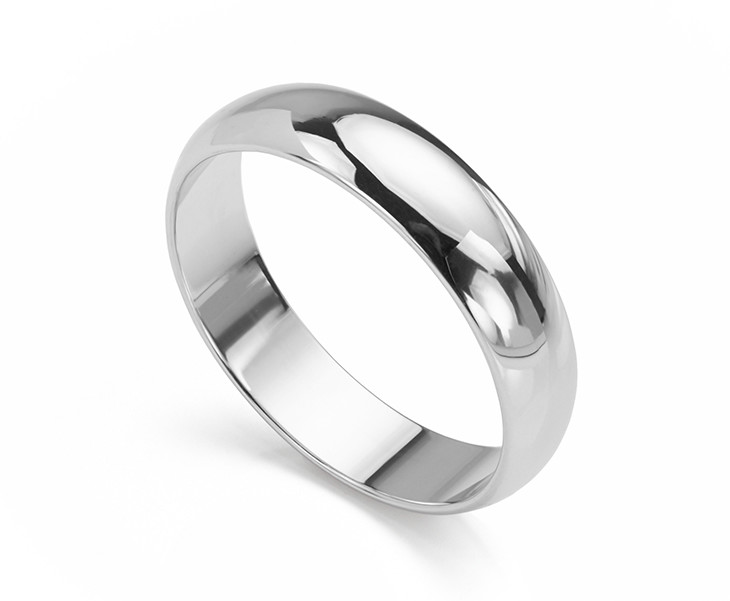 listing wedding comfort fit mens steel band brushed stainless il rings