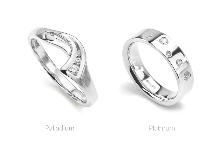 Palladium vs Platinum for wedding rings