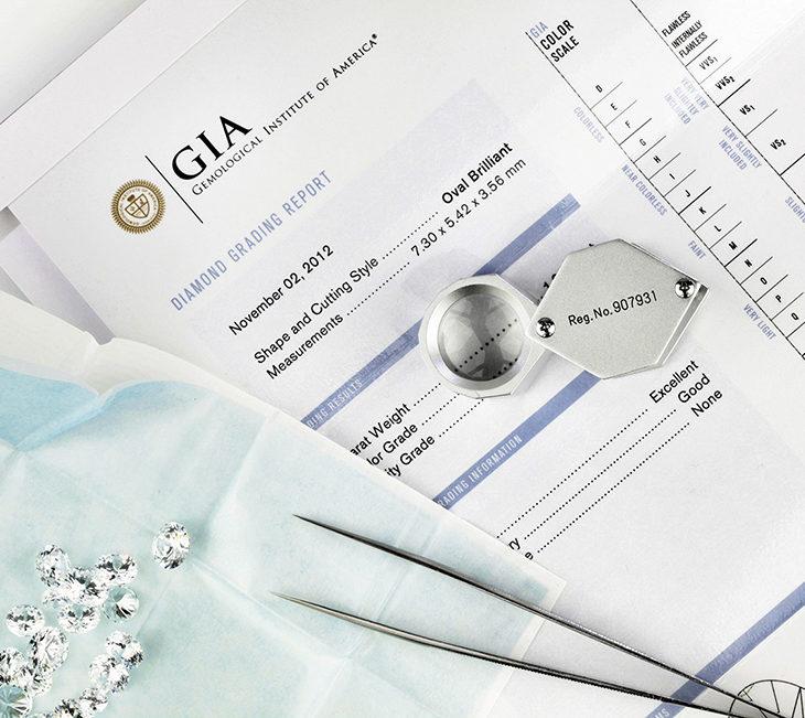 Diamonds certification