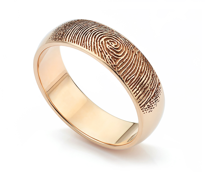 Remembrance Fingerprint Ring, just one application for fingerprint rings