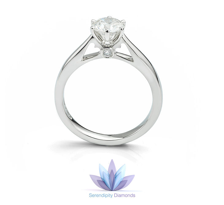 green rings ring products cut dsc rose diamond montana accented bezel textured sapphire engagement