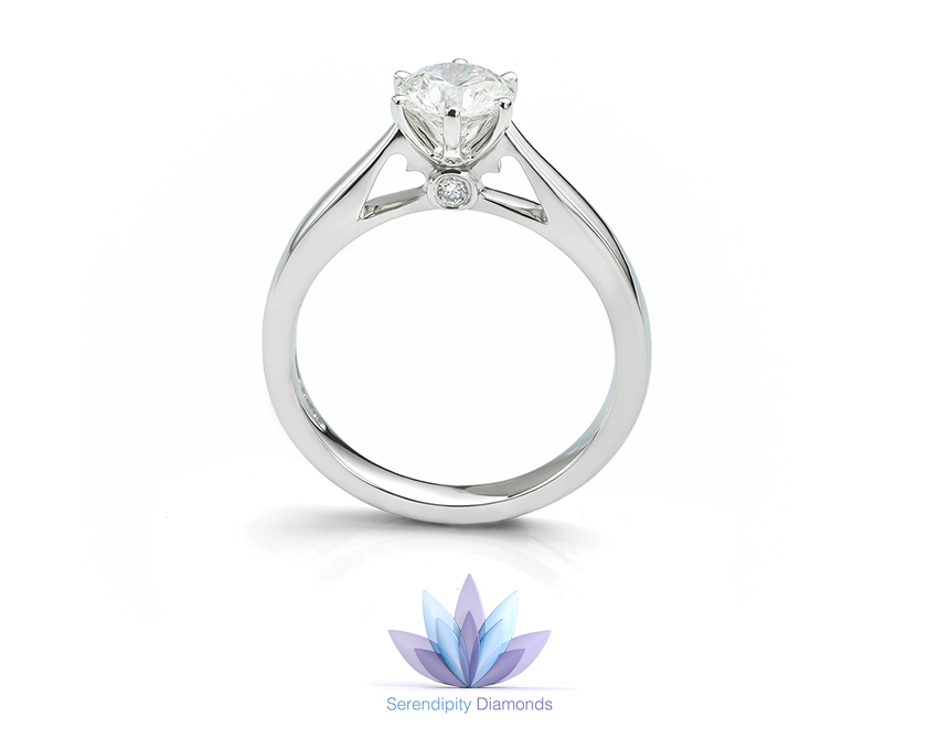 Choosing An Engagement Ring With Heart Shaped Accents